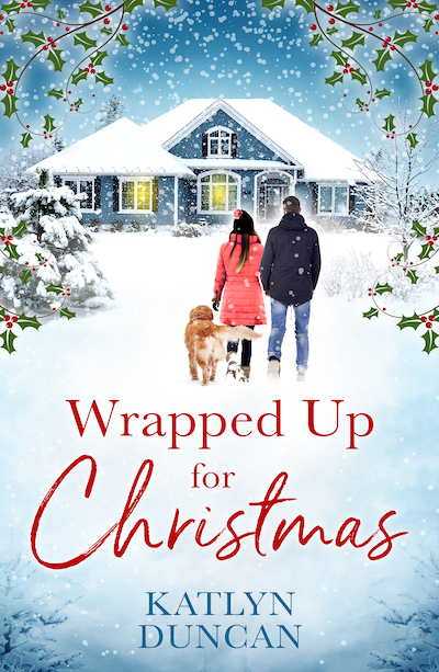 cover wrapped up for christmas